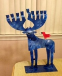 Why 9 antlers - I mean candles - for Chanukah?
